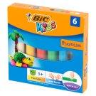 BiC Kids Plasticine 6 Colours