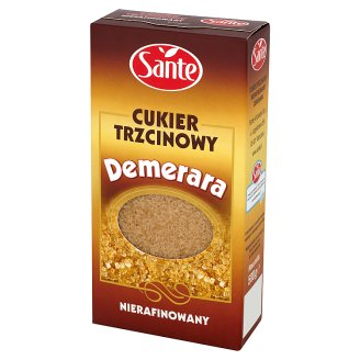 Sante Demerara Unrefined Cane Sugar 500 g