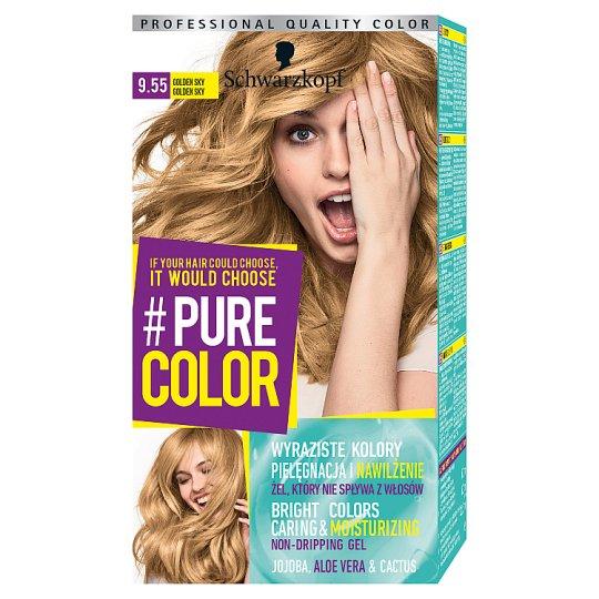 Schwarzkopf #Pure Color Hair Colorant Golden Sky 9.55