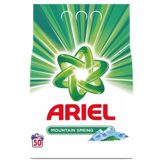 Ariel Mountain Spring Proszek do prania 3750 g, 50 prań
