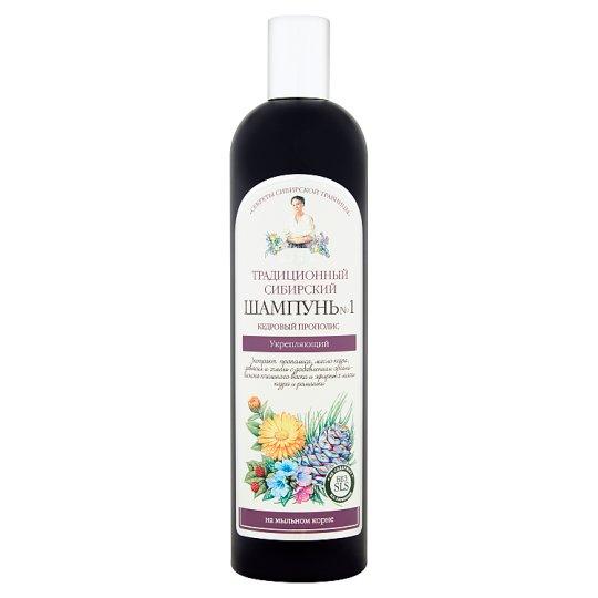 Tradycyjny syberyjski szampon nr 1 cedrowy propolis wzmacniający 550 ml