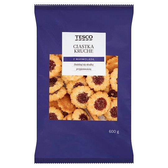 Tesco Shortbread Cookies with Jam 600 g
