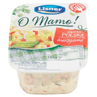 Lisner O Mamo! Vegetables Polish Style Salad 140 g