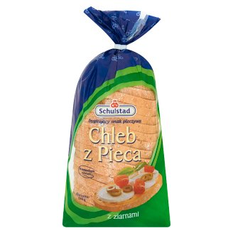 Schulstad Chleb z Pieca Sliced Mixed Flour Bread with Grains 660 g