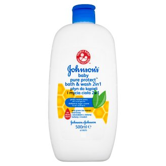 Johnson's Baby Pure Protect Bath & Wash 2in1 500 ml