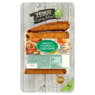 Tesco Express Menu! Croquettes Filled with Sauerkraut and Mushrooms 400 g