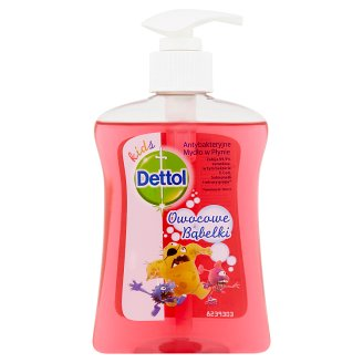 Dettol Kids Fruit Bubbles Antibacterial Liquid Soap 250 ml
