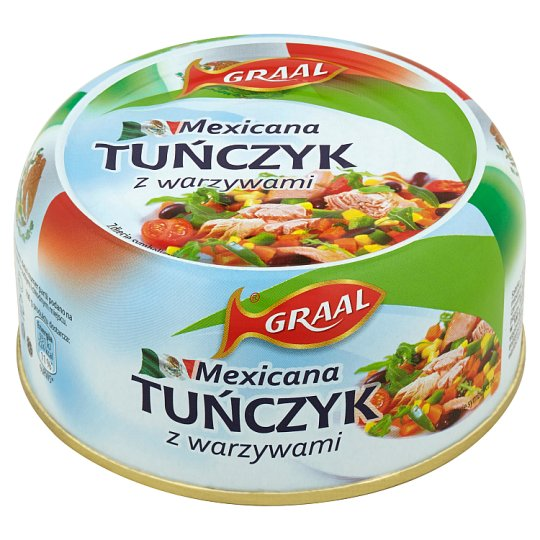 GRAAL Mexicana Tuna with Vegetables 280 g