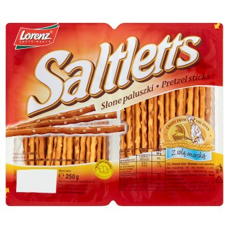 Saltletts Pretzel Sticks 250 g