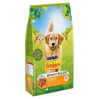 Friskies Vitafit Balance with Chicken and Vegetables Complete Dog Food 10 kg
