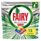 Fairy Platinum Plus Cytryna Kapsułki do zmywarki, 15 kapsułek
