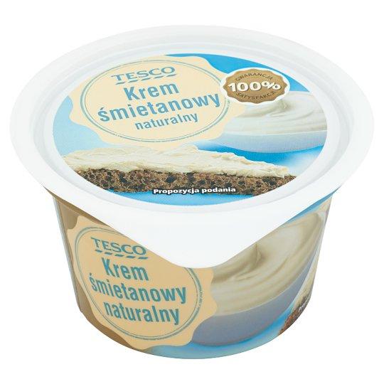 Tesco Krem śmietanowy naturalny 150 g