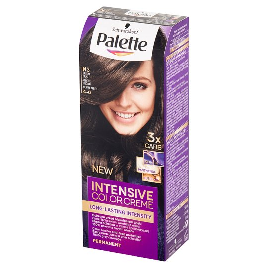 Palette Intensive Color Creme Hair Colorant Middle Brown N3 (4-0)