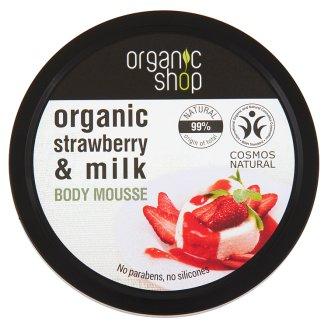 Organic Shop Strawberry Yoghurt Body Mousse 250 ml