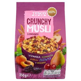 Tesco Musli prażone z owocami 350 g