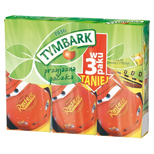 Tymbark Apple Banana Lemon Drink 3 x 200 ml