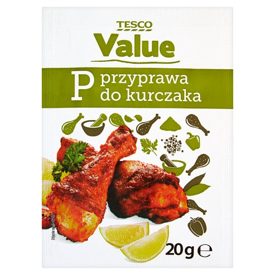 Tesco Value Seasoning for Chicken 20 g