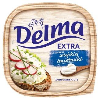 Delma Extra o smaku wiejskiej śmietanki Margaryna 450 g