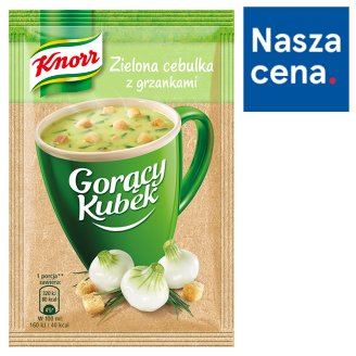 Knorr Gorący Kubek Green Onion Flavour with Croutons 17 g