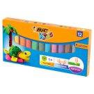 BiC Kids Plasticine 12 Colours