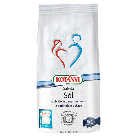Kotányi Salvita Sodium Reduced Dietary Salt with Potassium 500 g
