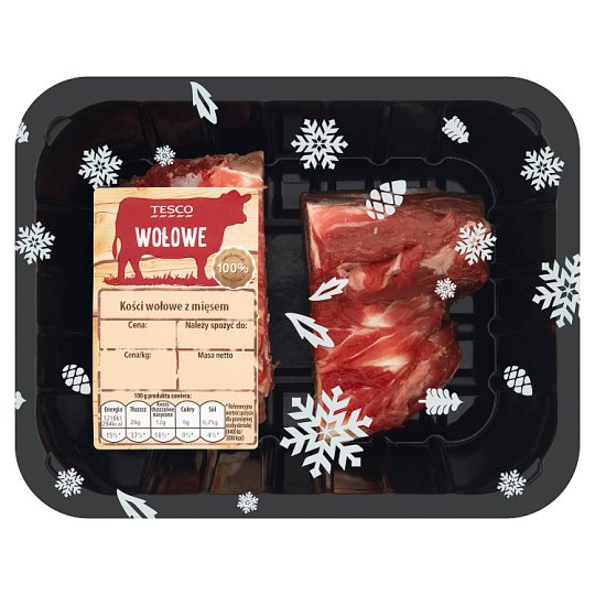 Tesco Beef Bones with Meat