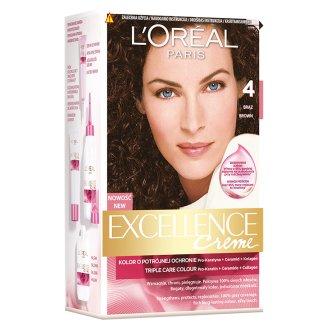 L'Oréal Paris Excellence Creme Farba do włosów 4 Brąz