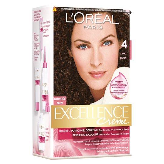 L'Oréal Paris Excellence Creme 4 Brown Colouring Cream