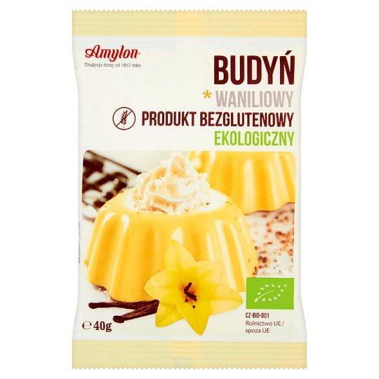 Amylon Ecological Vanilla Pudding 40 g