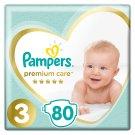 Pampers Premium Care rozmiar 3 (Midi), 5–9kg, 80 pieluszek