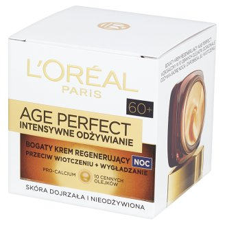 L'Oreal Paris Age Perfect Intensive Nutrition 60+ Rich Regenerating Night Cream 50 ml