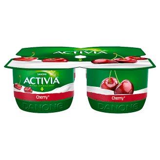 Danone Activia Cherry Yoghurt 480 g (4 x 120 g)