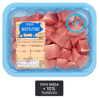 Tesco Pork Ham Stew Meat 500 g