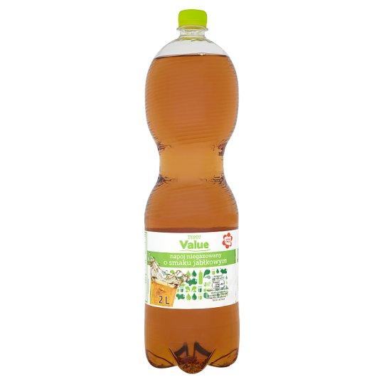Tesco Value Napój niegazowany o smaku jabłkowym 2 l