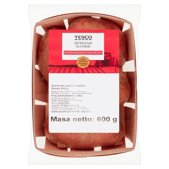 Tesco Ziemniaki słodkie 600 g