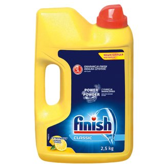 Finish Classic Lemon Dishwasher Power Powder 2.5 kg