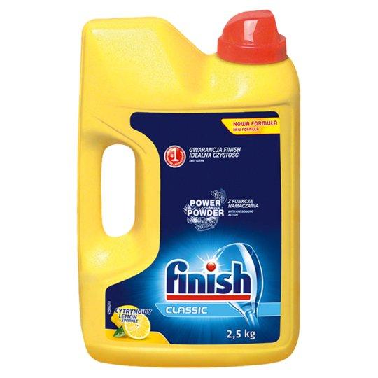Finish Classic Lemon Dishwasher Power Powder 2.5 kg