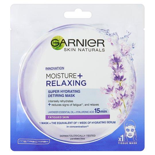 Garnier Skin Naturals Mousture + Relaxing Maska kompres 32 g