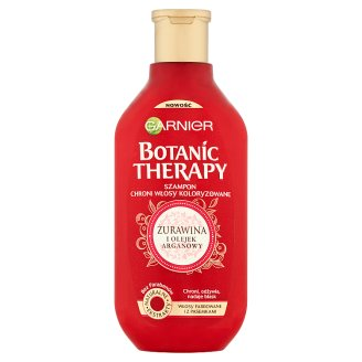Garnier Botanic Therapy Cranberry and Argan Oil Shampoo for Colored Hair 400 ml