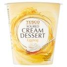 Tesco Eggnog Soured Cream Dessert 130 g