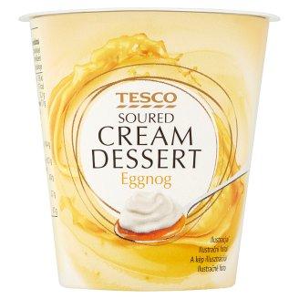 Tesco Eggnog Soured Cream Dessert 130 g