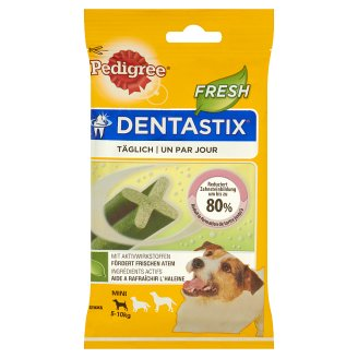 Pedigree DentaStix Fresh Mini Supplementary Dog Food 110 g (7 Pieces)