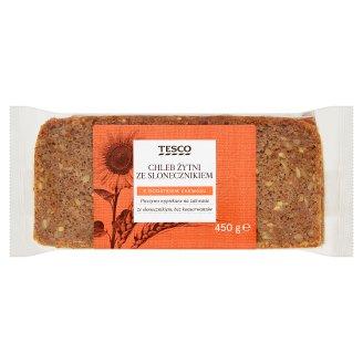 Tesco Chleb żytni ze słonecznikiem 450 g