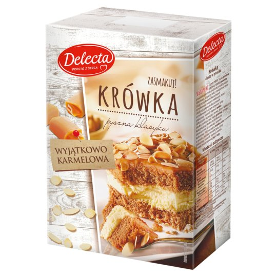 Delecta Fudge Powdered Cake 530 g