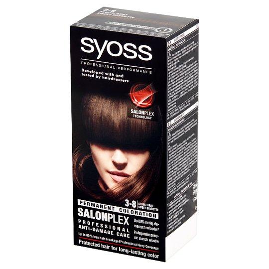 Syoss SalonPlex Hair Colorant Sweet Brunette 3-8