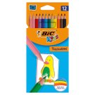 BiC Kids Tropicolors Colouring Pencils 12 Colours
