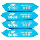 Gaga Baby Wet Wipes 4 x 72 Pieces