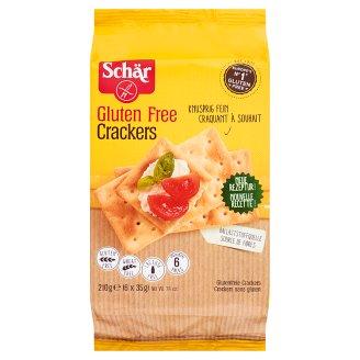 Schär Crackers Bezglutenowe krakersy 210 g (6 x 5 sztuk)