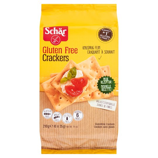 Schär Gluten Free Crackers 210 g (6 x 5 Pieces)