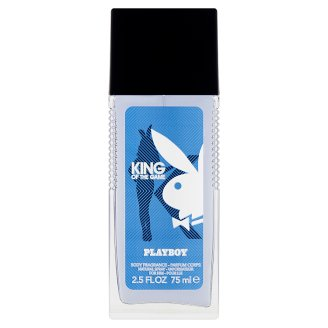 Playboy King Of The Game Body Fragrance Natural Spray for Him 75 ml